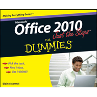 Office 2010 Just the Steps For Dummies (BOK)
