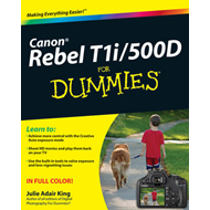 Canon EOS Rebel T1i/500D for Dummies (BOK)