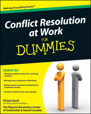 Conflict Resolution at Work For Dummies (BOK)