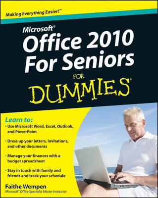 Office 2010 for Seniors For Dummies (BOK)