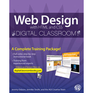 Web Design with HTML and CSS Digital Classroom (BOK)