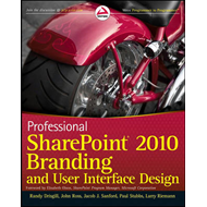 Professional SharePoint 2010 Branding and User Interface Des (BOK)