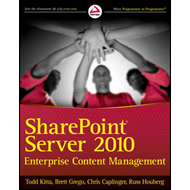 SharePoint Server 2010 Enterprise Content Management (BOK)