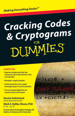 Cracking Codes & Cryptograms for Dummies (BOK)