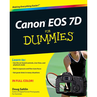 Canon EOS 7D For Dummies (BOK)
