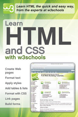 Learn HTML and CSS with W3Schools (BOK)