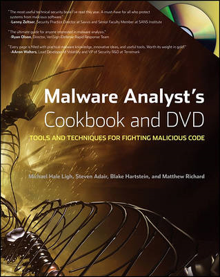 Malware Analyst's Cookbook and DVD (BOK)