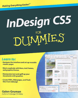 InDesign CS5 For Dummies (BOK)