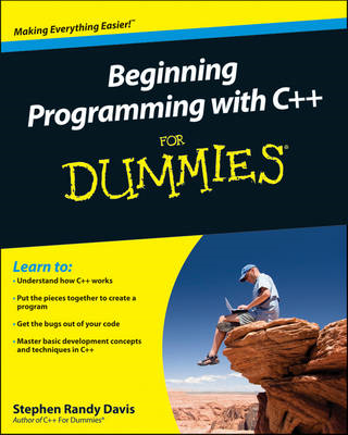 Beginning Programming with C++ For Dummies (BOK)