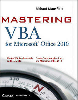 Mastering VBA for Office 2010 (BOK)