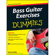 Bass Guitar Exercises for Dummies (BOK)