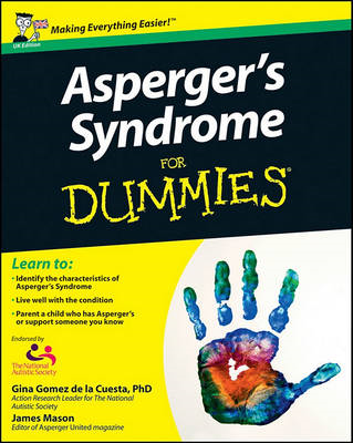 Asperger's Syndrome for Dummies UK Edition (BOK)