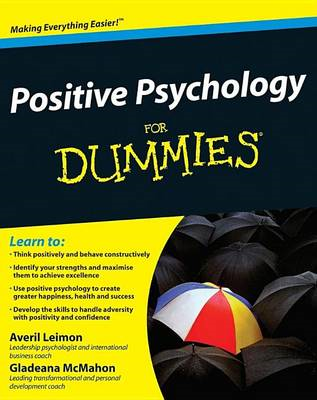 Positive Psychology For Dummies (BOK)