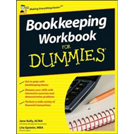 Bookkeeping Workbook For Dummies (BOK)