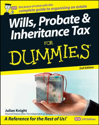 Wills, Probate, and Inheritance Tax For Dummies (BOK)