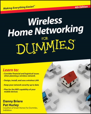 Wireless Home Networking For Dummies (BOK)