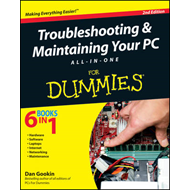 Troubleshooting & Maintaining Your PC All-in-One For Dummies (BOK)
