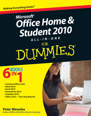 Office Home & Student 2010 All-in-One For Dummies (BOK)