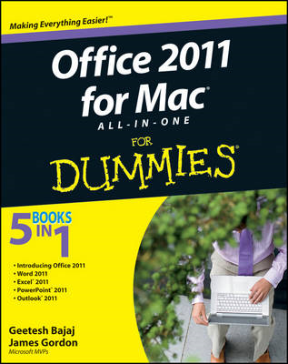 Office 2011 for Mac All-in-One For Dummies (BOK)