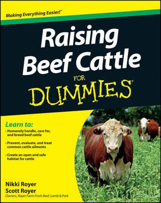Raising Beef Cattle for Dummies (BOK)