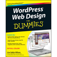 WordPress Web Design For Dummies (BOK)