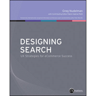 Designing Search: UX Strategies for Ecommerce Success (BOK)