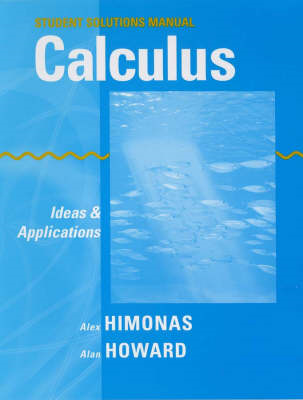 Applied Calculus: Student Solutions Manual (BOK)