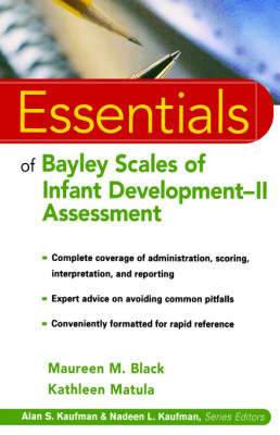 The Essentials of Bayley Scales of Infant Development II Assessment (BOK)