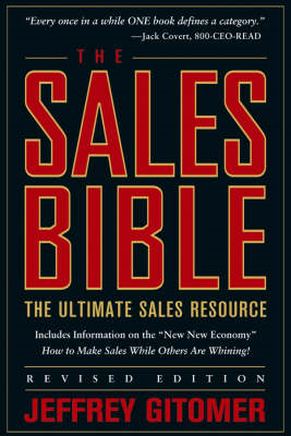 The Sales Bible: The Ultimate Sales Resource (BOK)