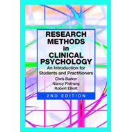 Research Methods in Clinical Psychology (BOK)