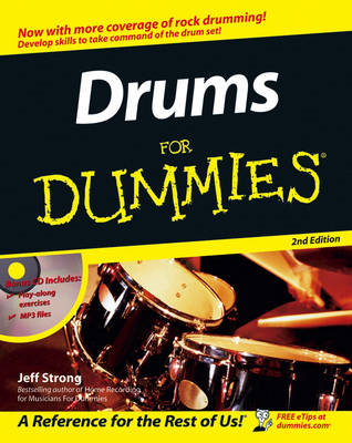 Drums for Dummies, 2nd Edition (BOK)