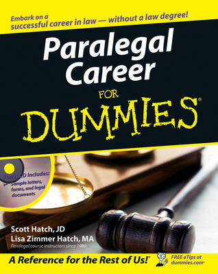 Paralegal Career For Dummies (BOK)