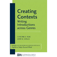 Creating Contexts: Writing Introductions Across Genres (BOK)