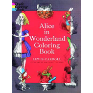 Alice in Wonderland Coloring Book (BOK)