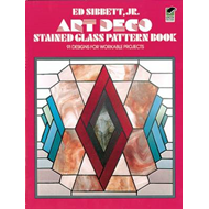 Art Deco Stained Glass Pattern Book (BOK)