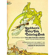 Rackham's Fairy Tale Coloring Book (BOK)