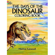 Days of the Dinosaur Coloring Book (BOK)