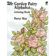 Garden Fairy Alphabet Coloring Book (BOK)