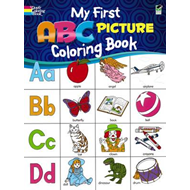 My First ABC Picture Coloring Book (BOK)