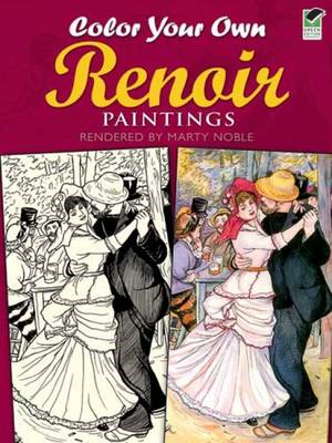 Color Your Own Renoir Paintings (BOK)