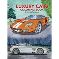 Luxury Cars Coloring Book (BOK)