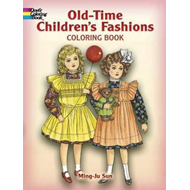 Old-Time Children's Fashions Coloring Book (BOK)