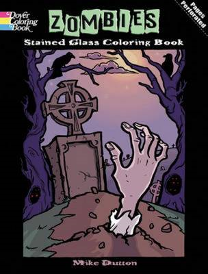 Zombies Stained Glass Coloring Book (BOK)