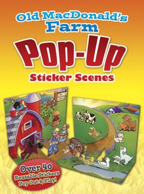 Old MacDonald's Farm PopUp Sticker Scenes (BOK)