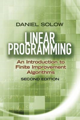 Linear Programming: An Introduction to Finite Improvement Al (BOK)