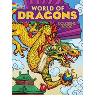 World of Dragons Coloring Book (BOK)