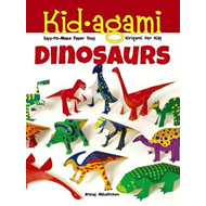 Kid-Agami -- Dinosaurs: Kiragami for Kids: Easy-to-Make Paper Toys (BOK)