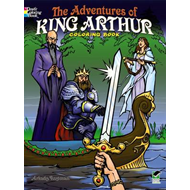 The Adventures of King Arthur Coloring Book (BOK)