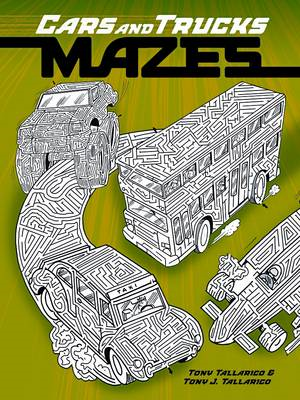 Cars and Trucks Mazes (BOK)