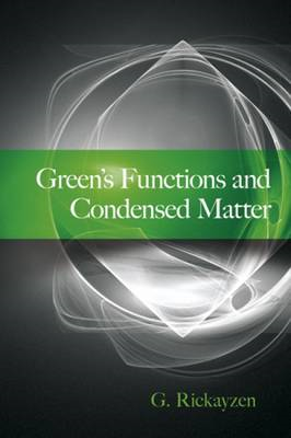 Green's Functions and Condensed Matter (BOK)